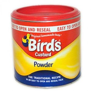 Birds Custard Powder Tin