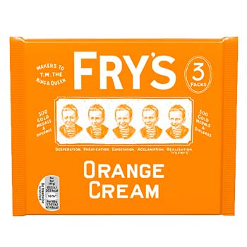 Fry's Orange Cream 3 Pack
