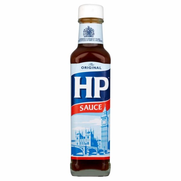 HP Sauce Glass Bottle