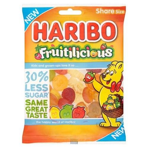 Haribo Fruitiliscious