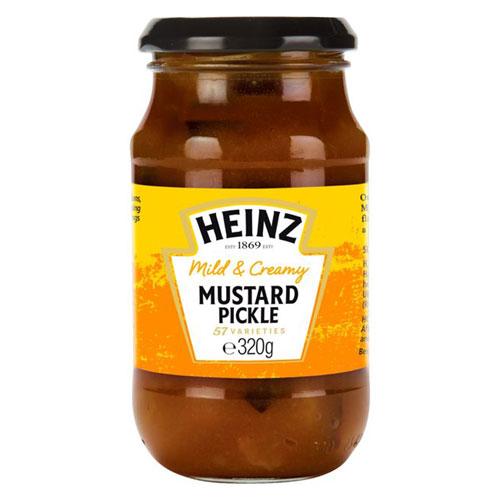 Heinz Pickle Mild Mustard