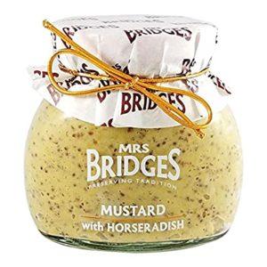 Mrs Bridges Mustard with Horseradish