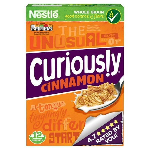 Nestle Curiously Cinnamon