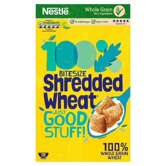 Nestle Shredded Wheat Bite Size