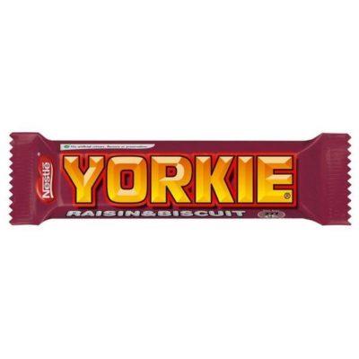 Nestle Yorkie Biscuit & Raisin