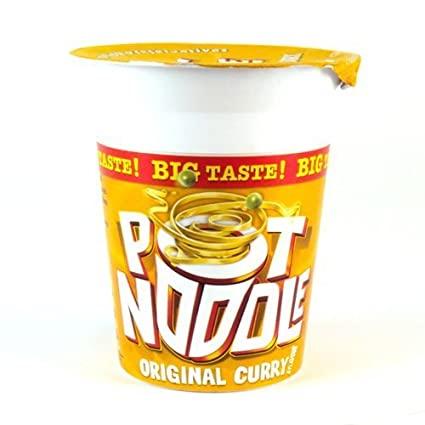 Pot Noodle Curry