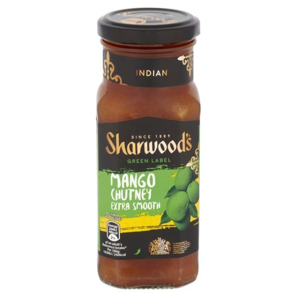 Sharwoods Mango Chutney Smooth