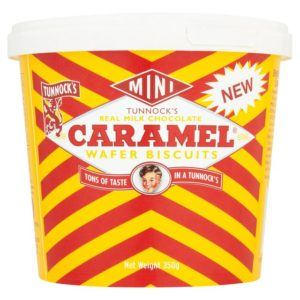 Tunnocks Mini Caramel Wafer Mini's
