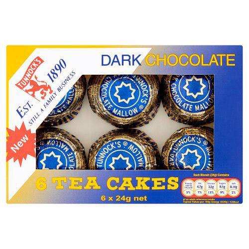 Tunnocks Teacakes Dark Chocolate