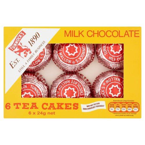 Tunnocks Teacakes Milk Chocolate