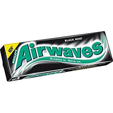 Wrigley Airwaves Black Mint