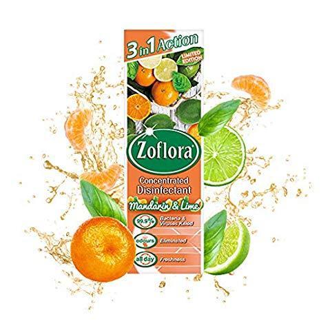 Zaflora Manderine & Lime